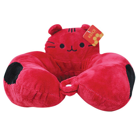 Yabu Travel Pillow - Red Cat