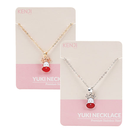 Yuki Necklace - Reindeer