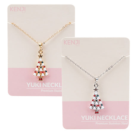 Yuki Necklace - White tree