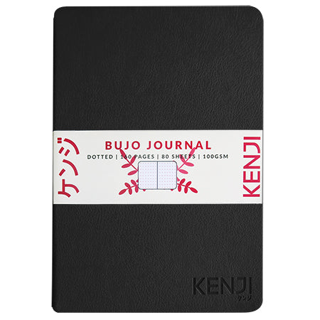 Bujo Line Notebook - PU Black