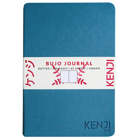 Bujo Line Notebook - PU light blue