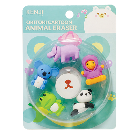Okitoki Animal Eraser