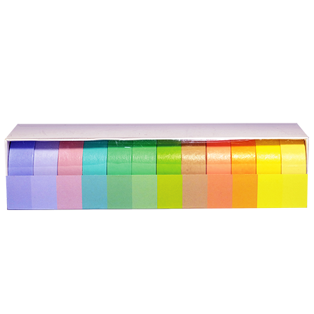 Washi Tape Rainbow Box