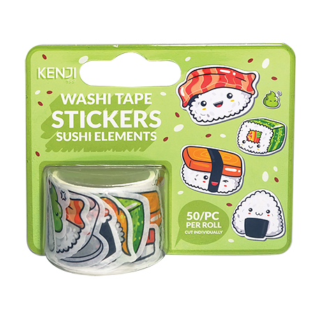 Washi Tape Stickers - Sushi