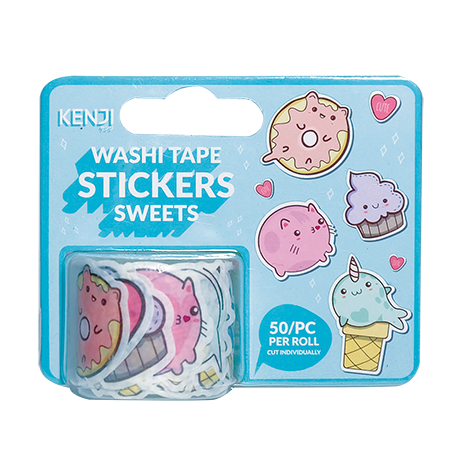Washi Tape Stickers - Sweets