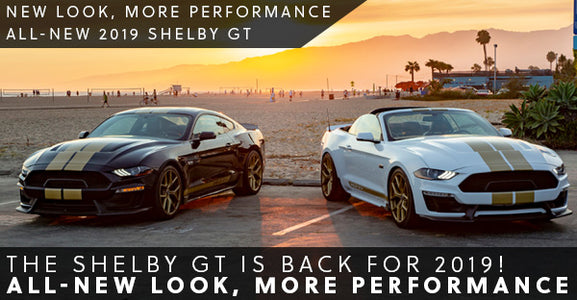 Shelby American brings back the Shelby GT for 2019! <br />New Look | More Power | More Performance