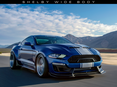 Shelby Wide Body with the Penske Track Suspension System