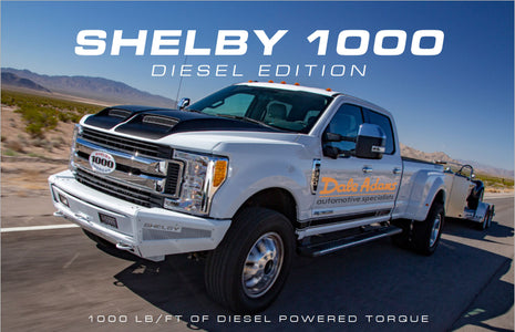 All-New Shelby 1000 Diesel! 1000 lb/ft of Diesel Powered Torque
