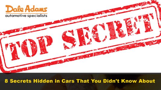 8 Secrets Hidden in Cars That You Didn't Know About