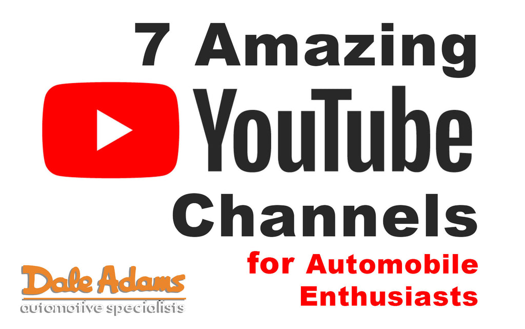 7 Amazing YouTube Channels for Automobile Enthusiiasts