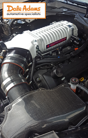 Shelby + Whipple = 875 Horsepower  Read on if you dare    - Dale