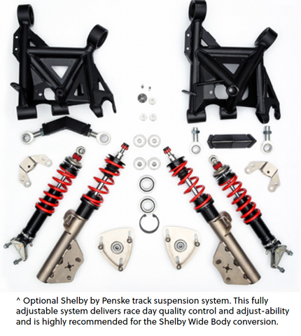 Penske Track Suspension System