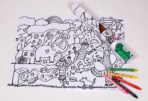 COLOUR-IN-FUN!