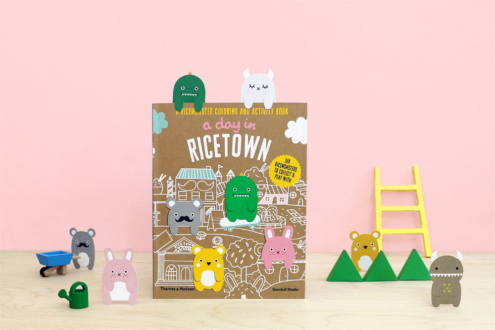 A Day In Ricetown book by Noodoll.