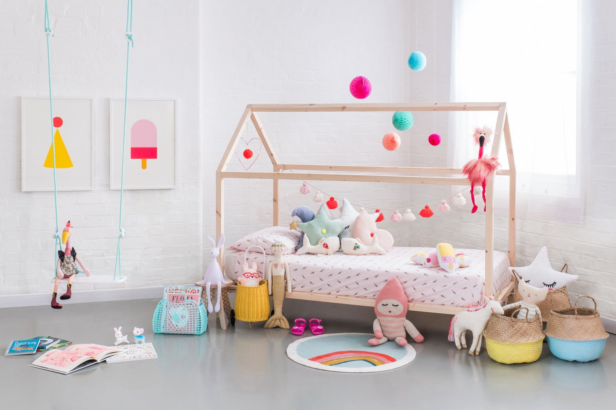 A Mermaid's Tale, children's bedroom styled by Bobby Rabbit.