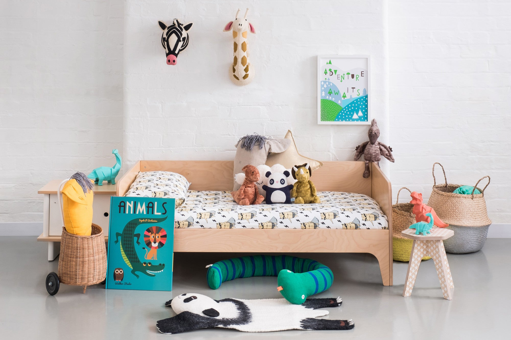 Animal Adventure Children's Room, styled by Bobby Rabbit.