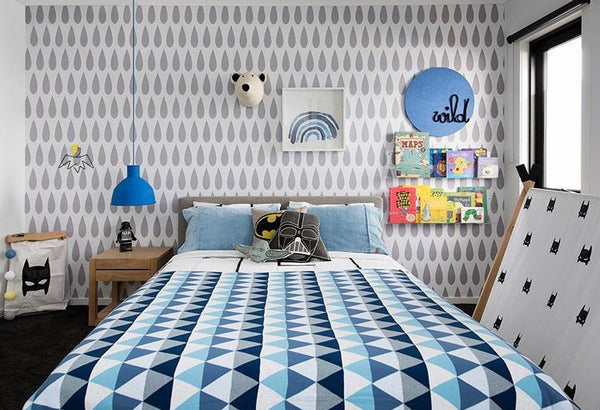 Boys Bedroom, styled by Milka Interiors