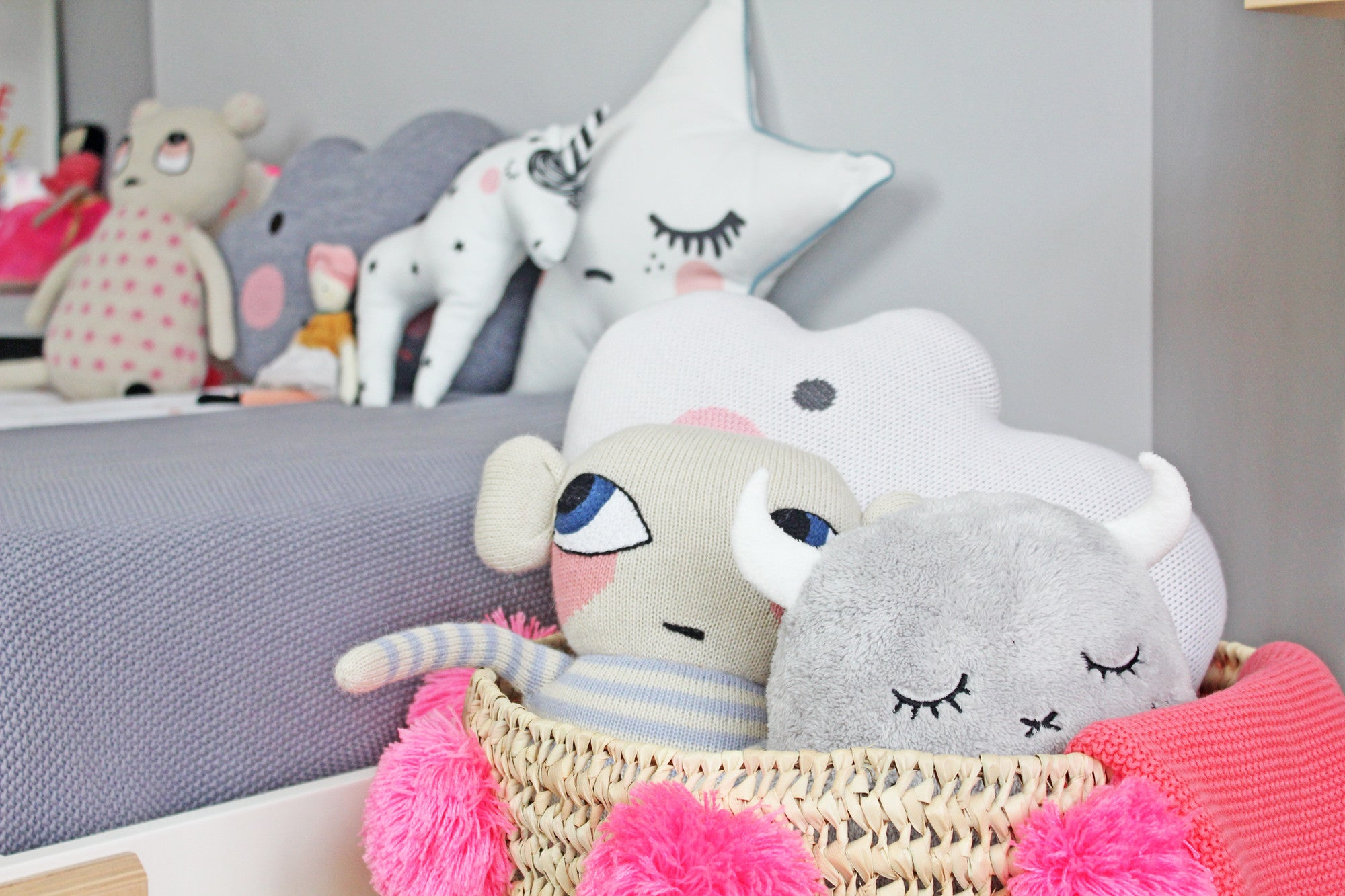 Toys and accessories, children's room decor available at Bobby Rabbit.