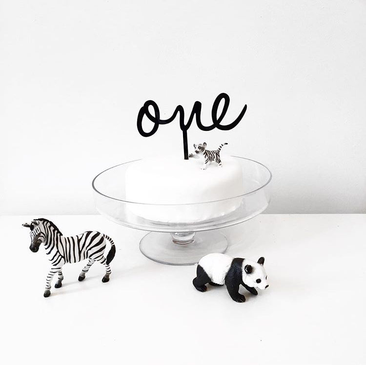 Monochrome First Birthday Party styled by Being Mummy XO, featured on Bobby Rabbit
