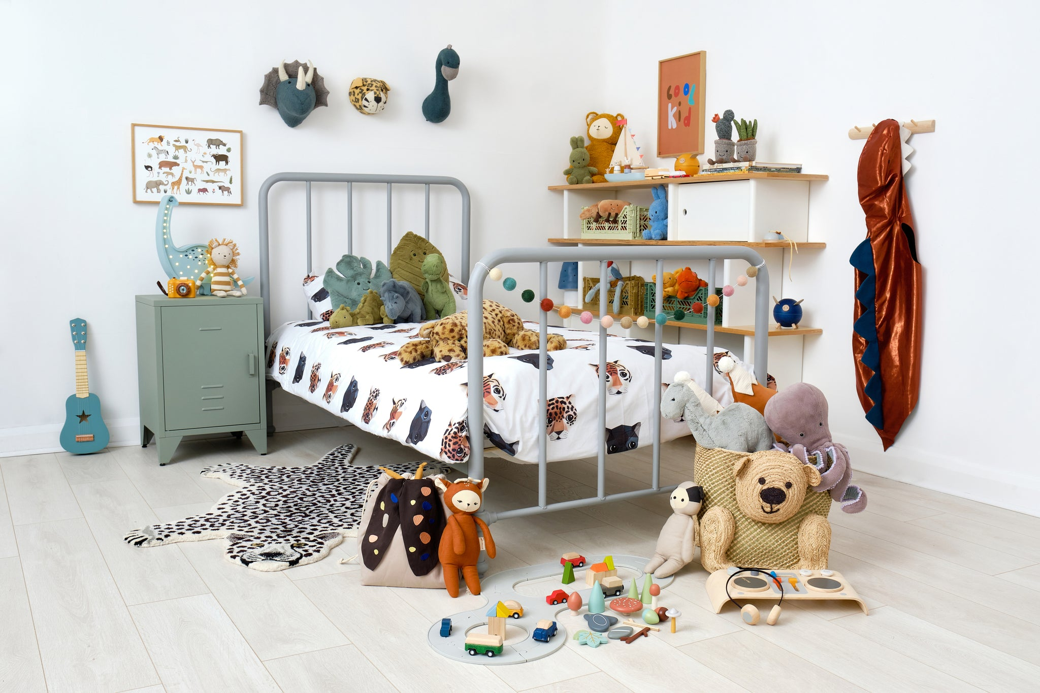 Dino-Land Bedtime Story and Children's Room, by Bobby Rabbit.