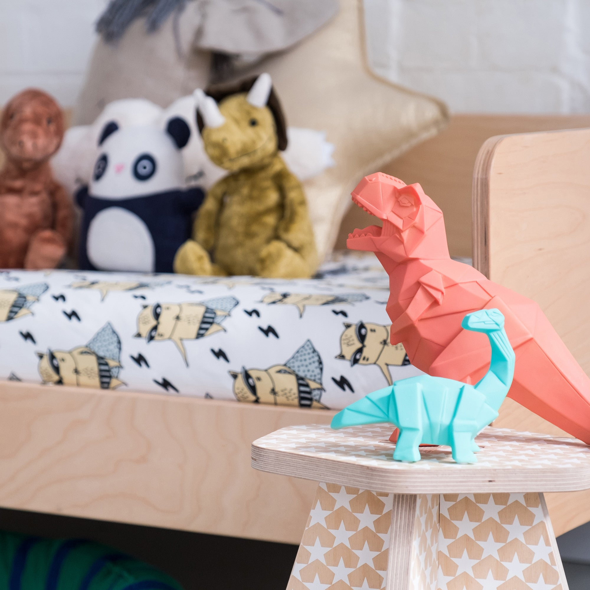 Dinosaur Lamps, available at Bobby Rabbit.