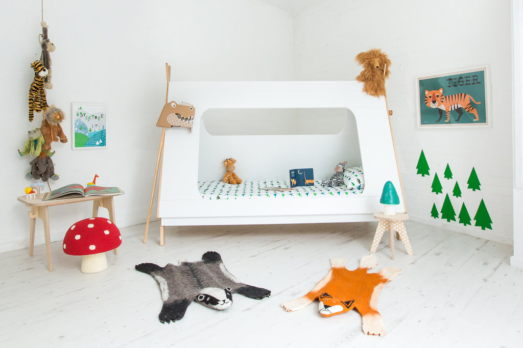 Explore and Roar Explorer Themed Bedroom by Bobby Rabbit