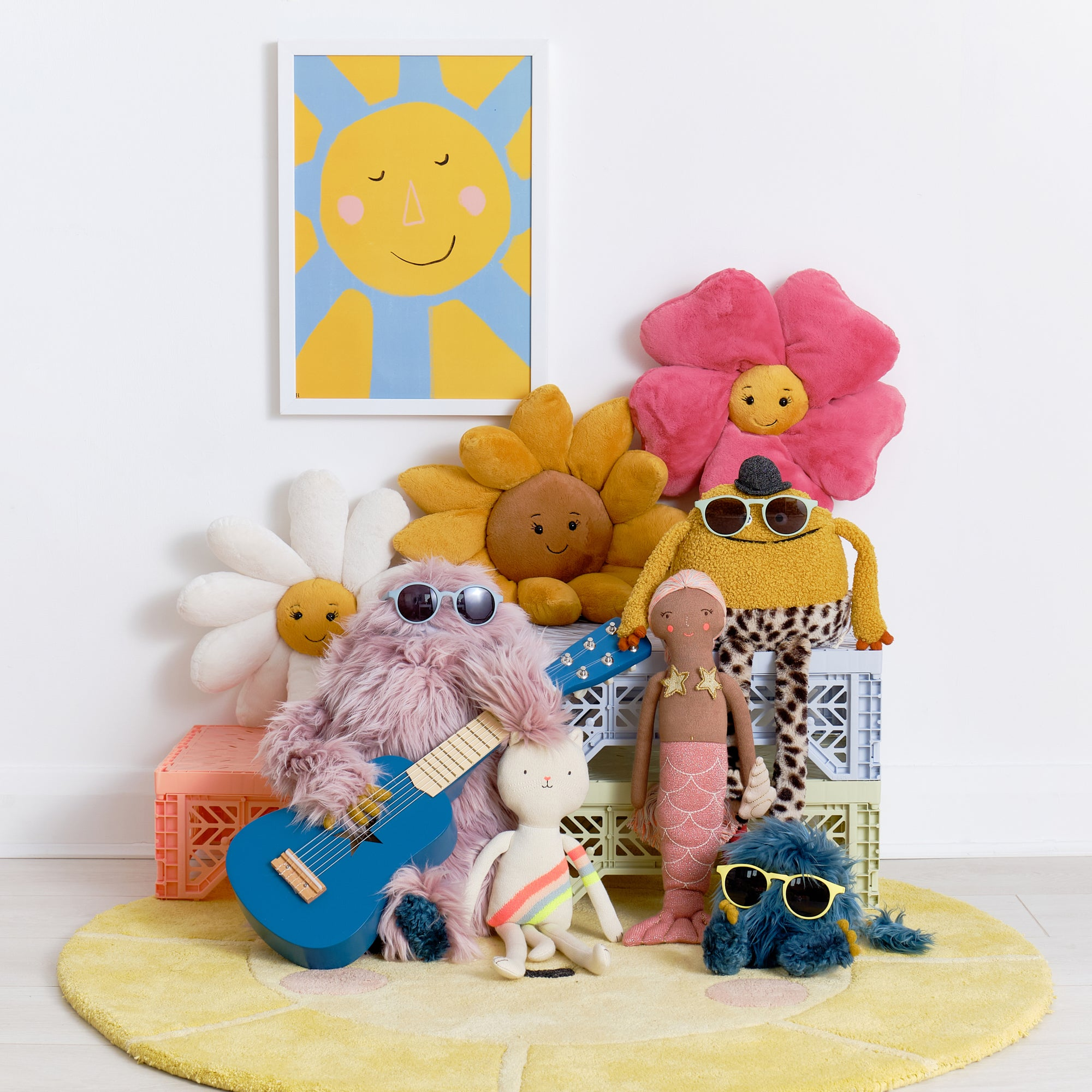 Toys and accessories, available at Bobby Rabbit.