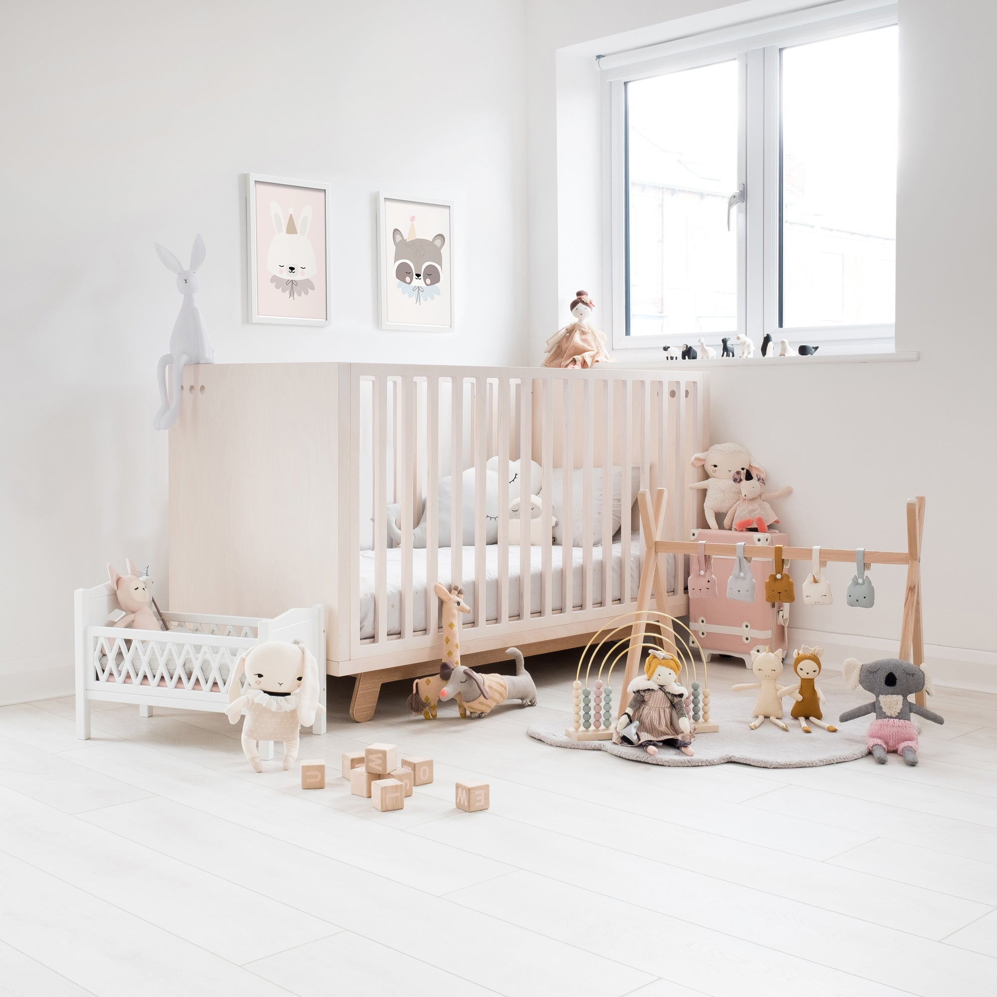 Goodnight Bunny! Nursery designed by Bobby Rabbit.
