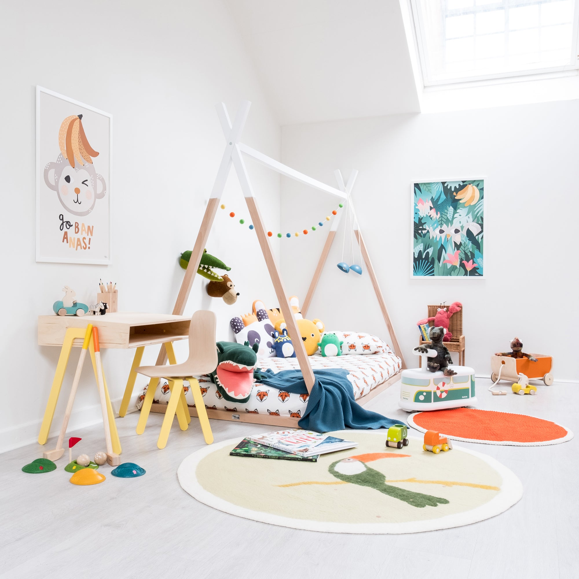 Hide and Seek Children's Room, styled by Bobby Rabbit.