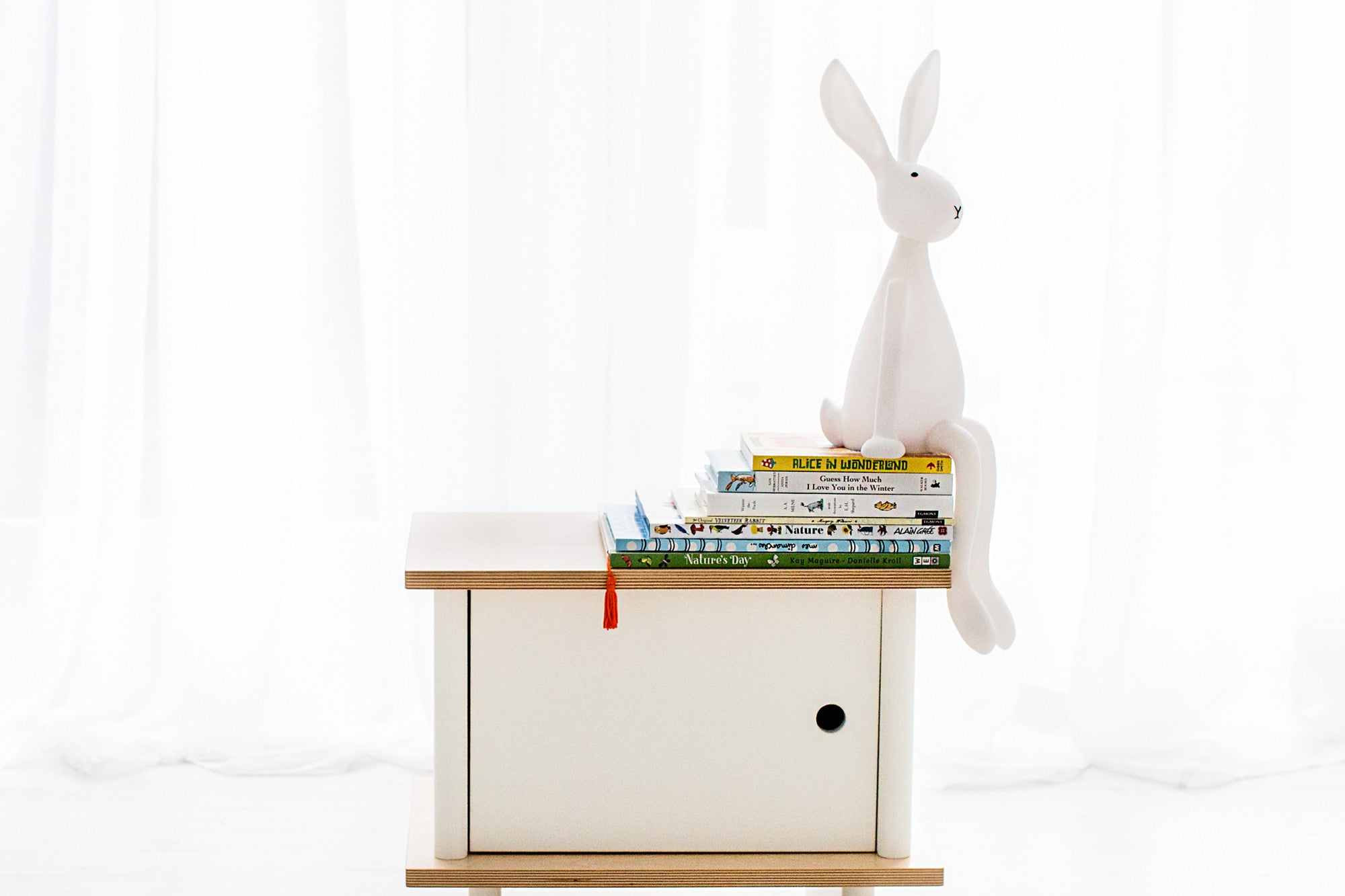 Joseph Bunny Lamp by Rose in April, available at Bobby Rabbit.