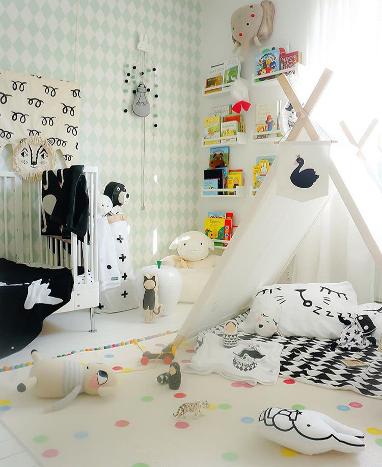 Children's Reading Nook, as seen on Kids Design Life