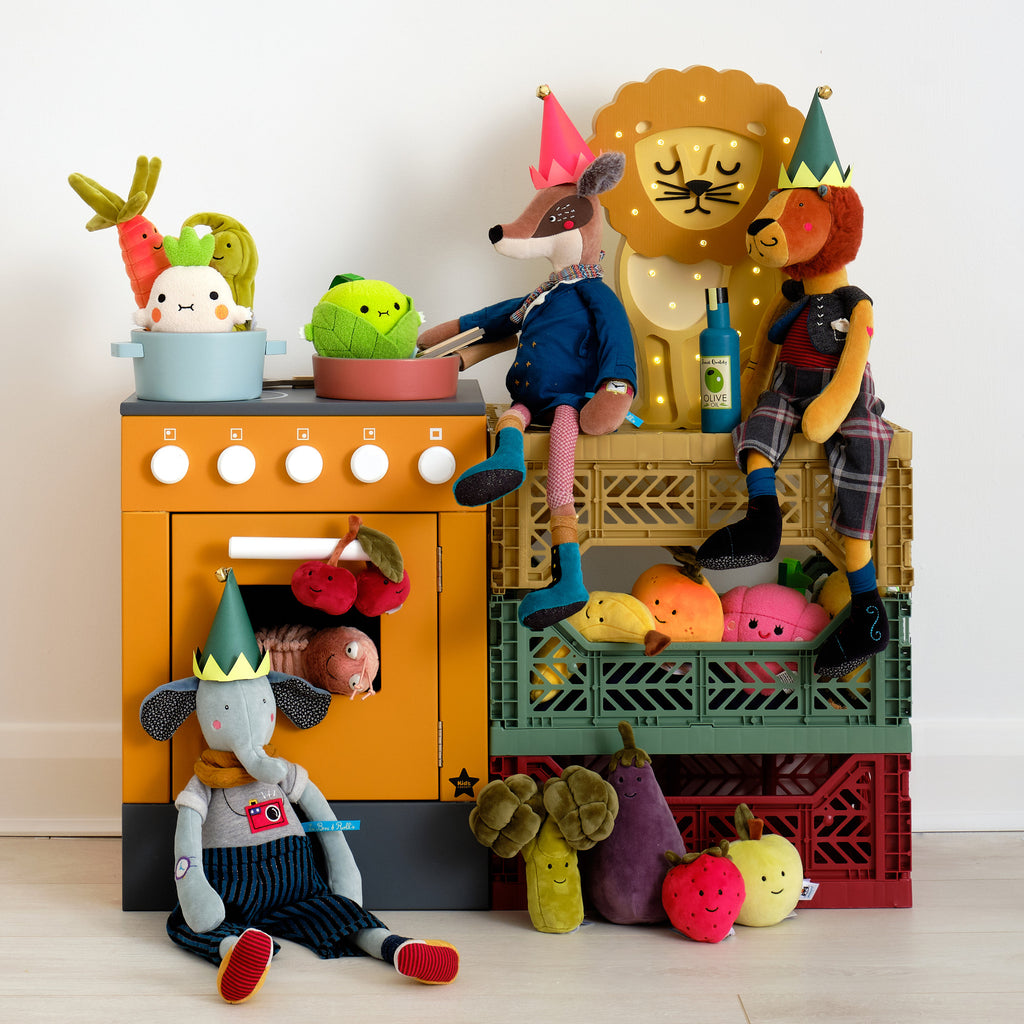 Kitchen Stove, Toys and Accessories, styled for Christmas by Bobby Rabbit.