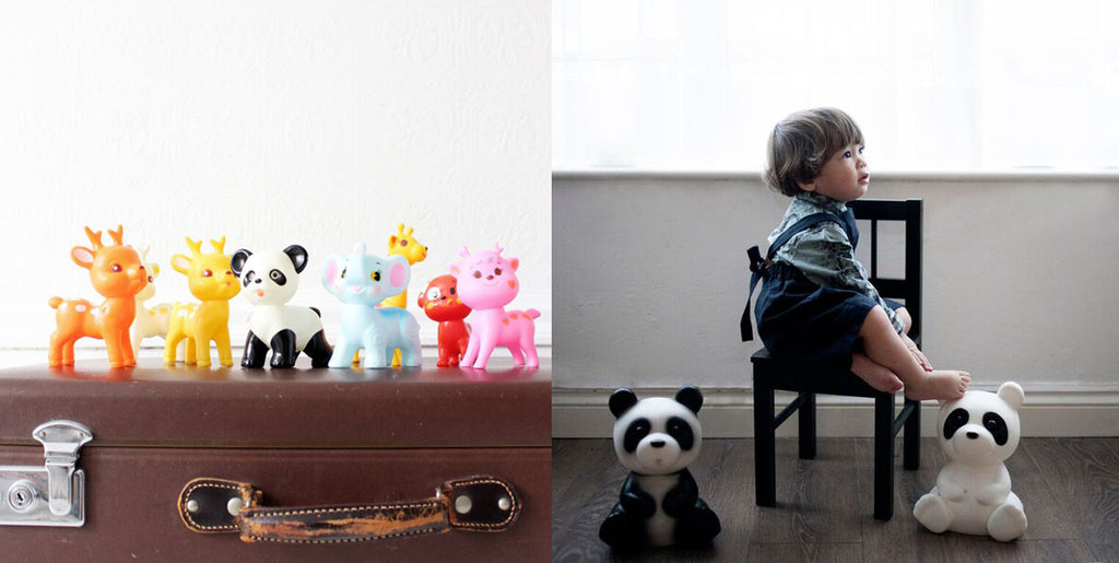 Little Cuties and Baby Panda Lights by Lapin and Me