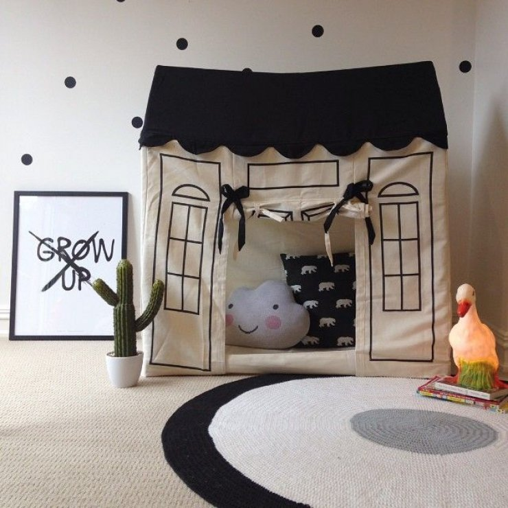 Play House Den, as seen on Mommo Design blog
