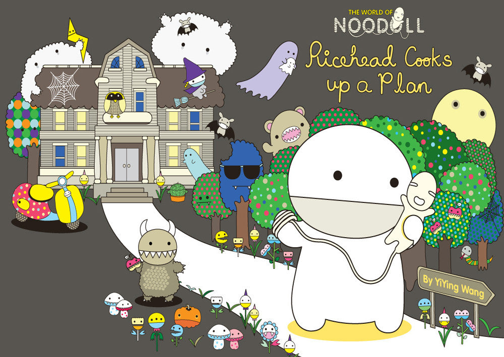 Ricehead Cooks Up A Plan book by Noodoll.