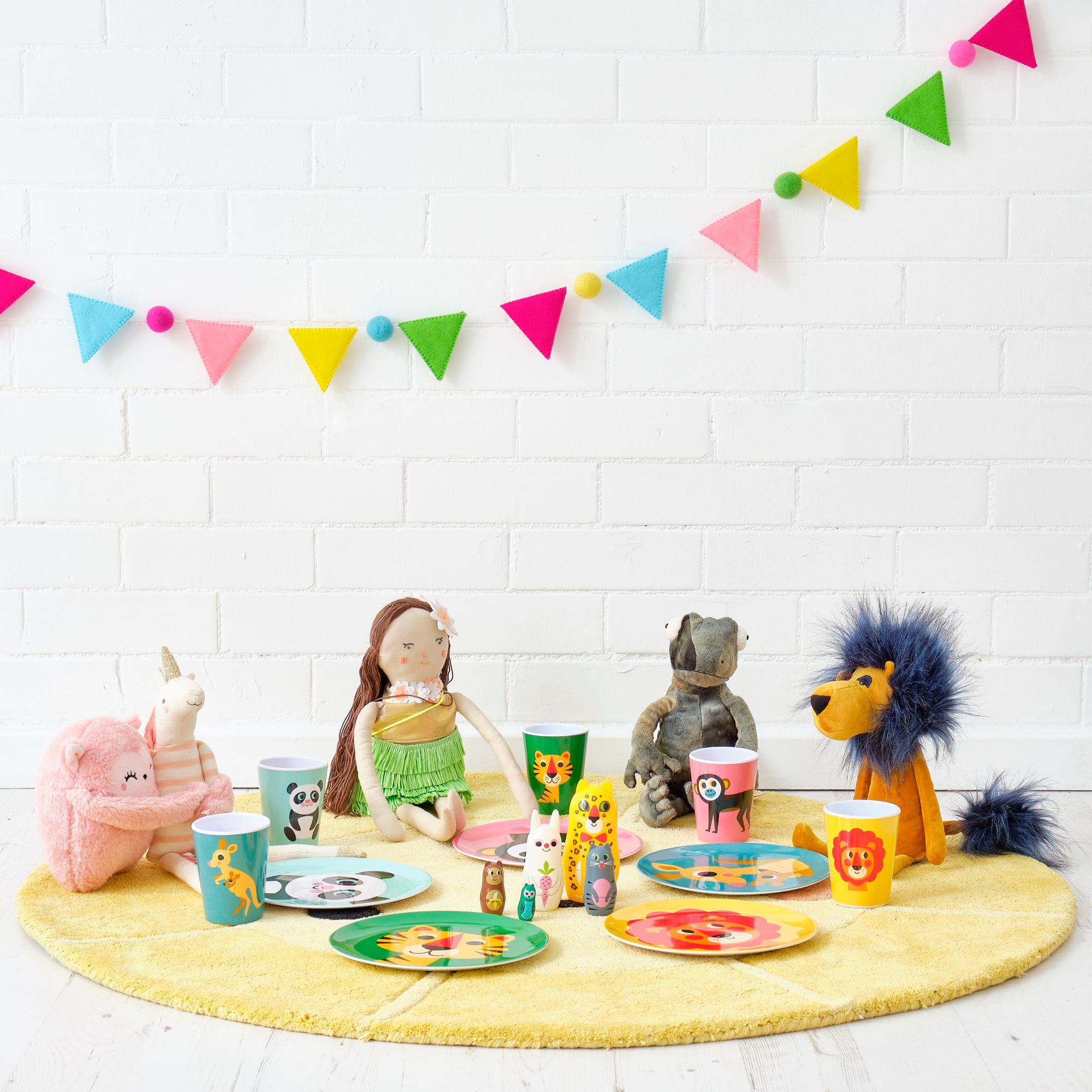 Tableware and Toys, styled by Bobby Rabbit.