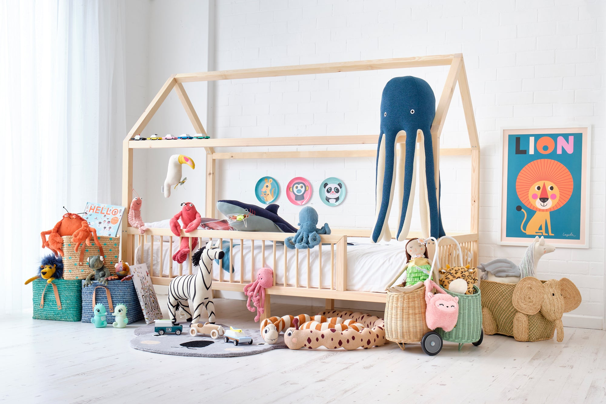 'Treasure Island' Children's Bedroom, Toys and Accessories, styled by Bobby Rabbit.