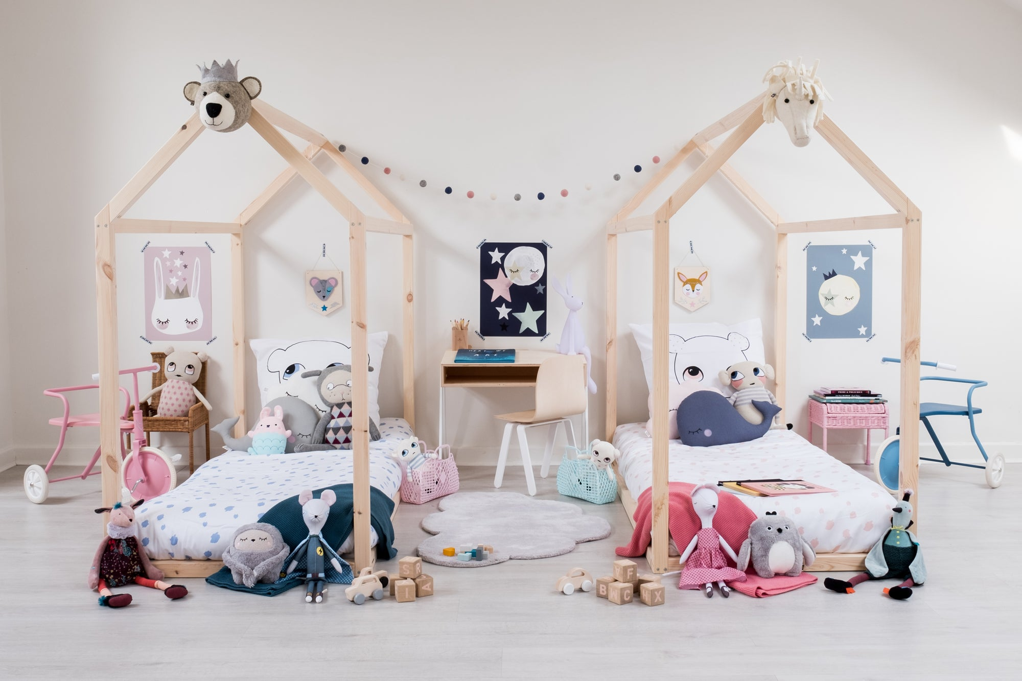 Hide and Seek Children's Bedroom by Bobby Rabbit.