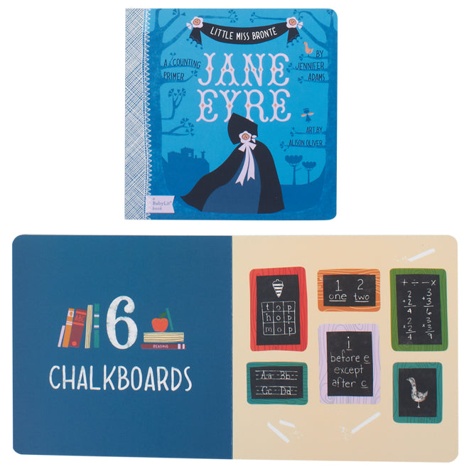 Jane Eyre counting book by Babylit, published by Bobby Rabbit