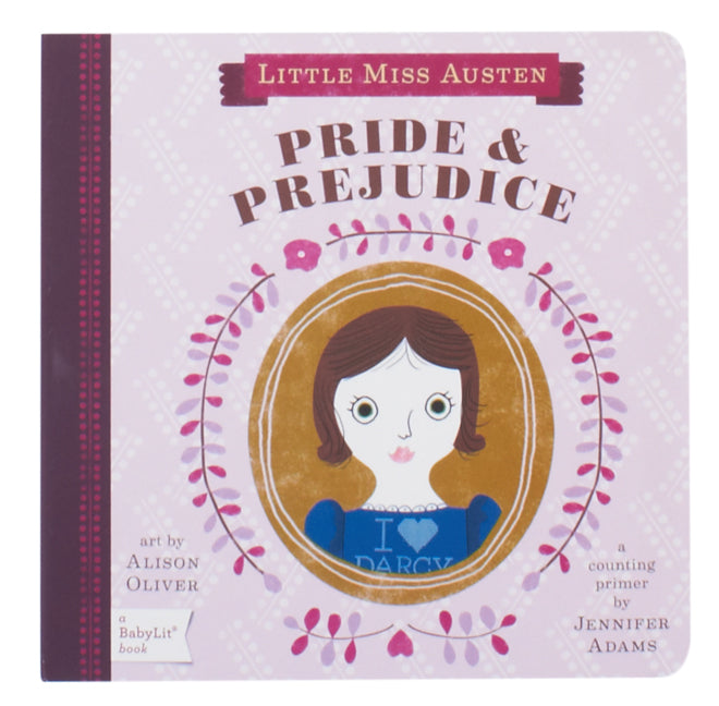 Pride and Prejudice counting book by Babylit, published by Bobby Rabbit
