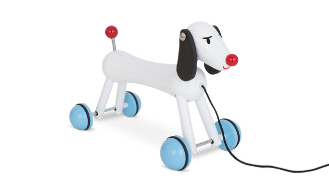 Vilac Wooden Pull-Along Dog from AlexandAlexa, published by Bobby Rabbit