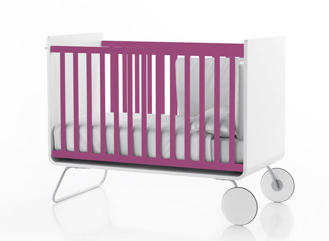 furniture, children's furniture, children's bedroom furniture, cots, pink cot, BE cot, Bebemoda, published by Bobby Rabbit