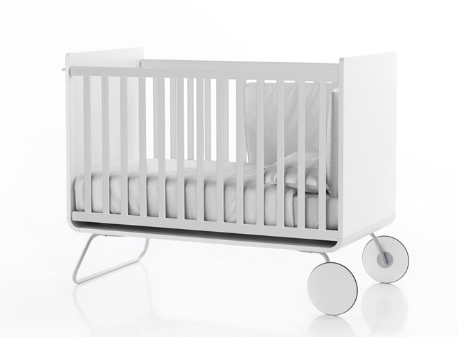 furniture, children's furniture, children's bedroom furniture, cots, white cot, BE cot, Bebemoda, published by Bobby Rabbit