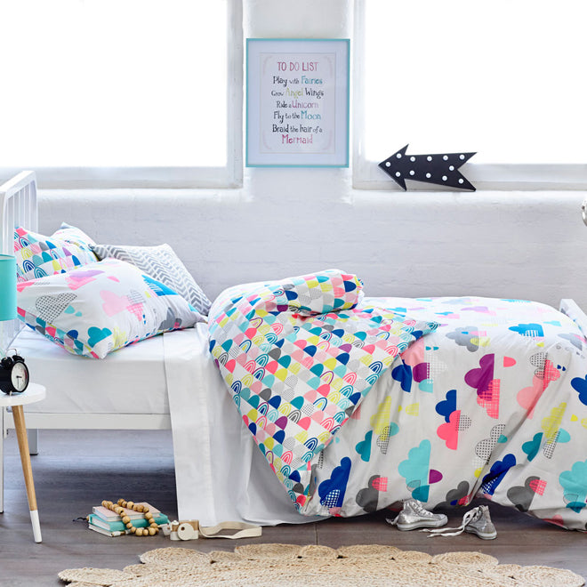 Bright Bedding, as seen on Adairs, published by Bobby Rabbit