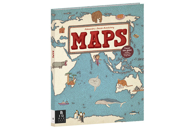 books, educational books, bedtime books, 'maps' books, maps book for children, children's atlas, Big Picture Press, published by Bobby Rabbit
