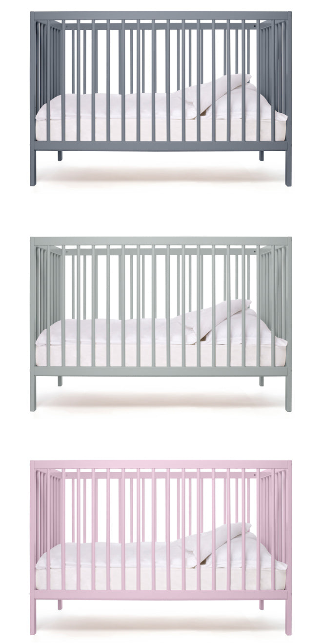 Modern Baby Cot by Bodie and Fou, published by Bobby Rabbit