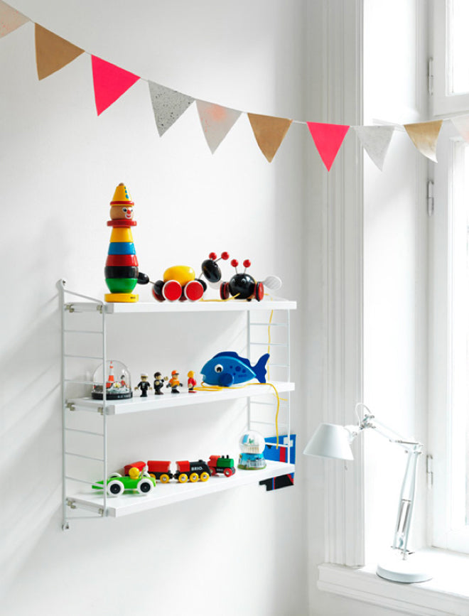 Bright Bunting and Brio Toys, as seen on Rafa Kids blog, published by Bobby Rabbit