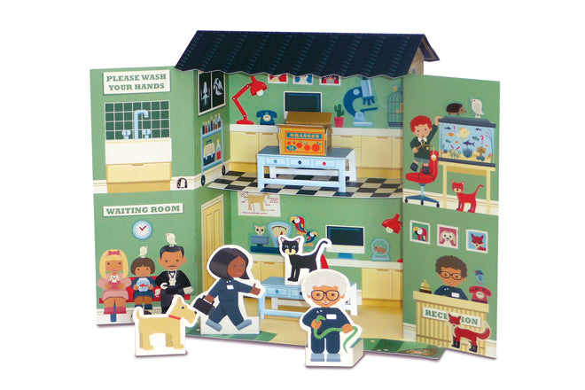 Create your own pet hospital by Clockwork Soldier, published by Bobby Rabbit