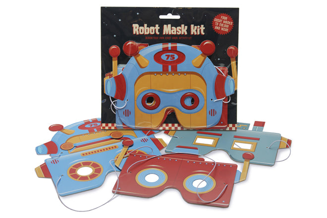 Create your own robot mask kit by Clockwork Soldier, published by Bobby Rabbit