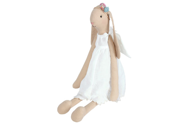 toys, soft toys, soft toy rabbit, angel bunny, Maileg rabbits, Cottontails Baby, published by Bobby Rabbit